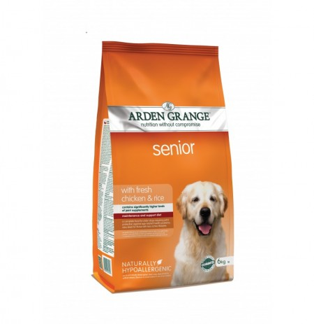 Arden grange adult senior pollo y arroz