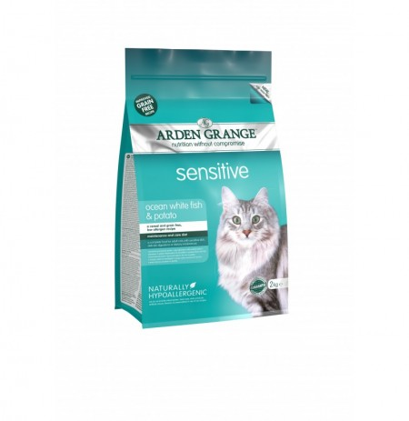 Arden grange cat gato sensible y patata (sensitive & potato)