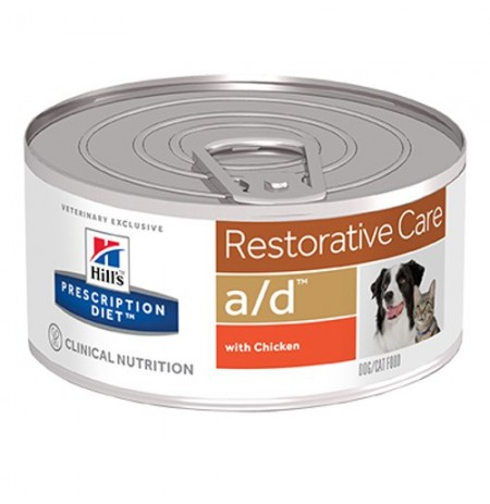 Hill's prescription diet canine/feline a/d restorative care (lata)