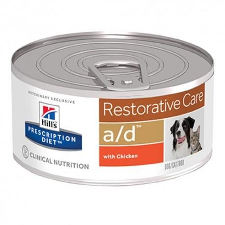 Hill's prescription diet canine/feline a/d restorative care (lata)