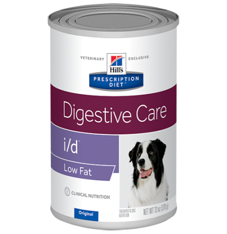 Hill's prescription diet canine i/d low fat (lata)