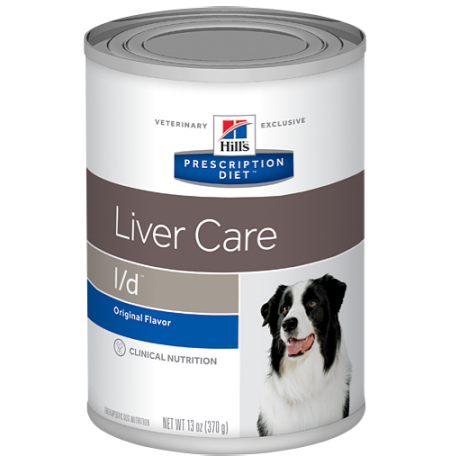 Hill's prescription diet canine l/d liver care (lata)