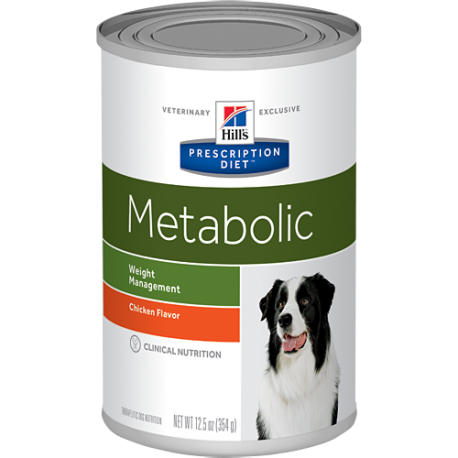 Hill's prescription diet canine metabolic sabor pollo (lata)