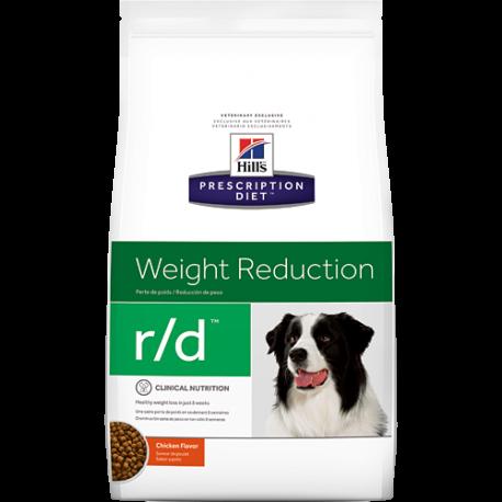 Hill's prescription diet canine r/d weight reduction sabor pollo