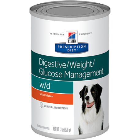 Hill's prescription diet canine w/d digestive/weight/glucose management con pollo (lata)