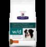Hill's prescription diet canine w/d digestive/weight/glucose management sabor pollo