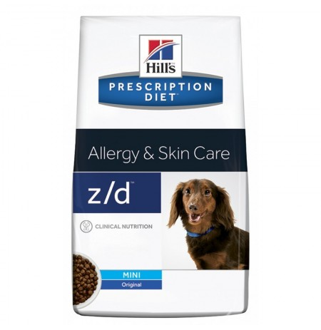 Hill's prescription diet canine z/d mini allergy & skin care
