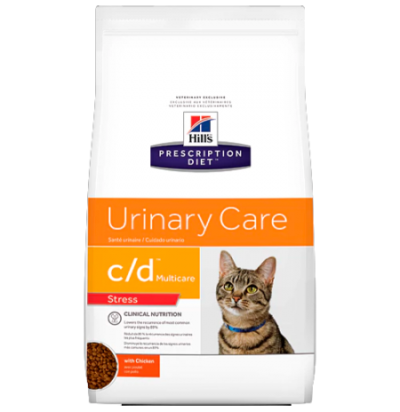 Hill's prescription diet feline c/d urinary stress con pollo