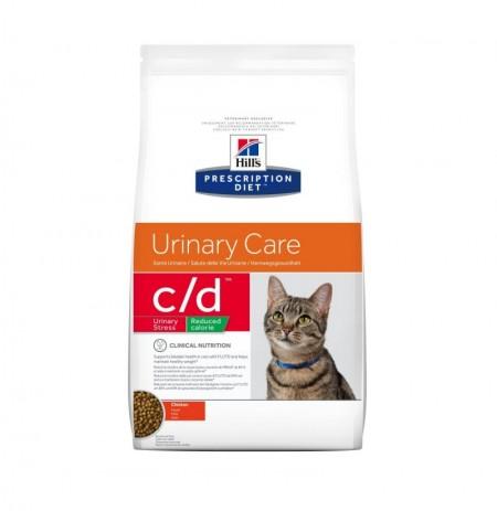 Hill's prescription diet feline c/d urinary stress reduced calorie pollo