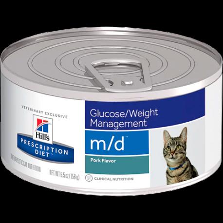 Hill's prescription diet feline m/d sabor cerdo (lata)