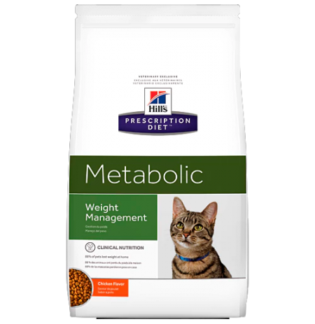 Hill's prescription diet feline metabolic sabor pollo
