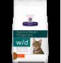 Hill's prescription diet feline w/d digestive/weight/glucose management con pollo
