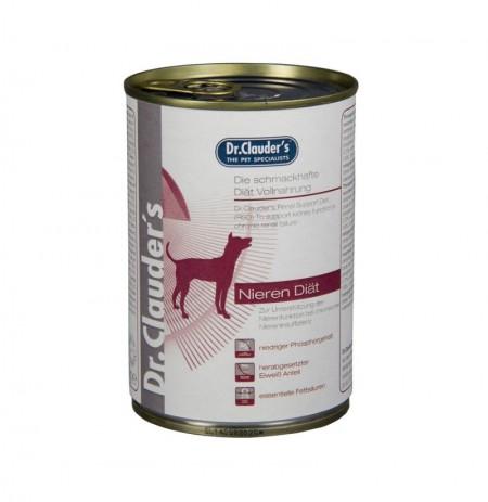 Lata dieta húmeda renal dr.clauder's para perros