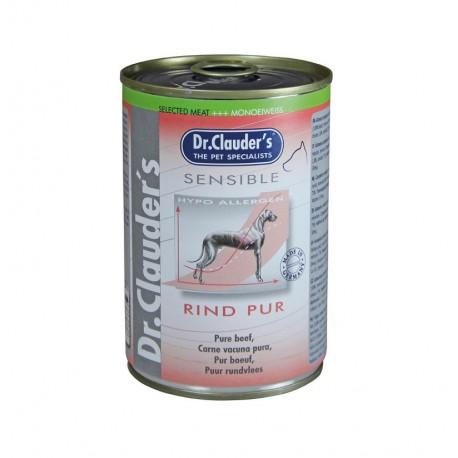 Lata sensible puro ternera dr.clauder's para perros sensibles