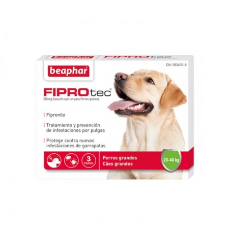 Fiprotec pipetas perros grandes (20-40 kg)