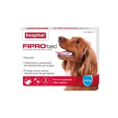 Fiprotec pipetas perros medianos (10-20 kg)
