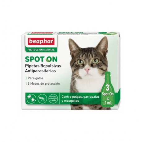 Pipetas gato repulsivas antiparasitarias