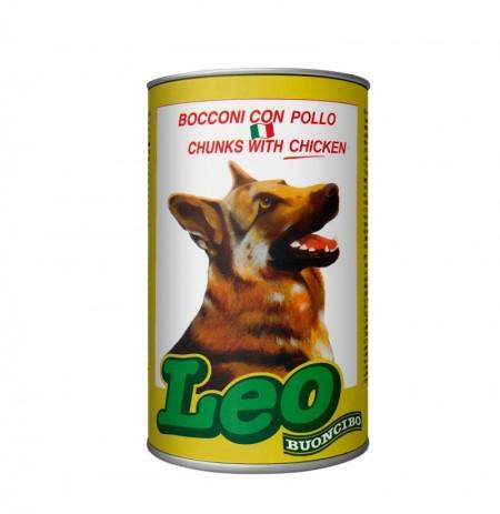 Lata leo pollo para perros 1,23 kg