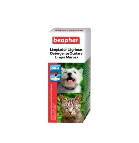 Limpiador de lagrimas beaphar para perro y gato