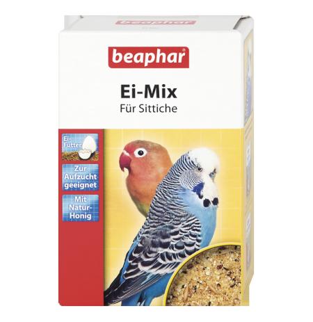 Beaphar pasta de huevo para periquitos, agapornis y pequeñas cotorras