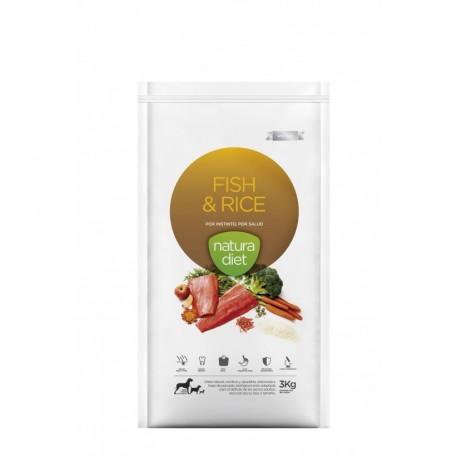 Natura diet fish & rice (pescado y arroz)