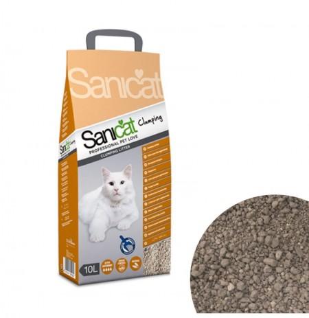Sanicat clumping arena aglomerante para gatos