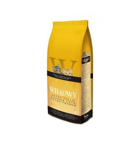 Willowy gatos pollo (pollo y cereales)