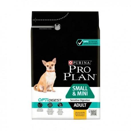 Purina pro plan digestión sensible perro adulto small y mini