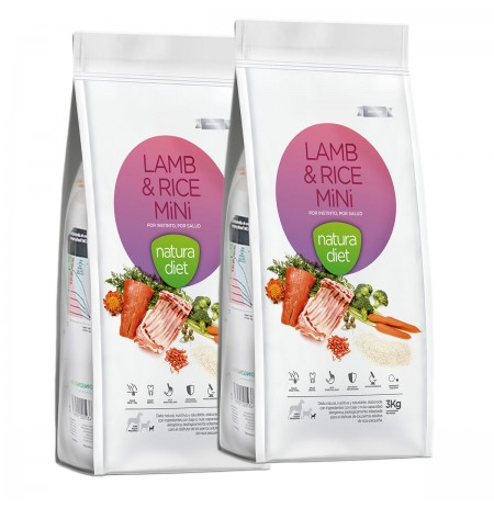 Natura diet lamb & rice mini (cordero y arroz)