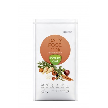 Natura diet daily food mini mantenimiento