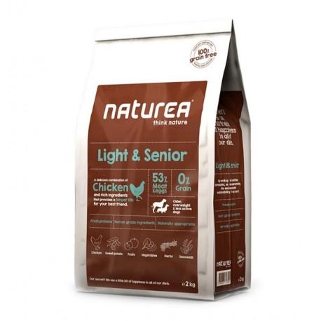 Naturea light senior (perros sedentarios o ancianos)