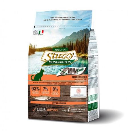 Stuzzy salmón para gatos grain free monoproteico