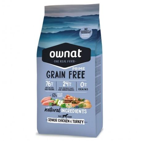 Ownat prime senior grain free (pollo y pavo)