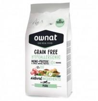 Ownat grain free hypoallergenic cerdo para perros