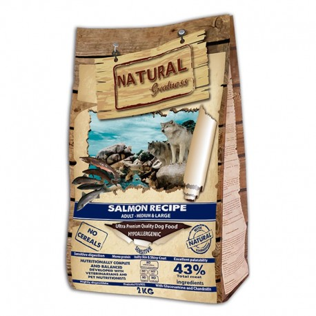 Natural greatness salmón medium large