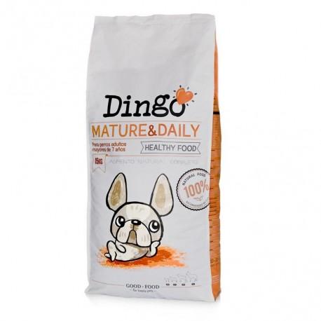 Saco pienso Dingo mature & daily para perros mayores de Dingonatura