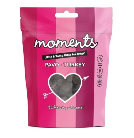 Moments pavo snacks para perros