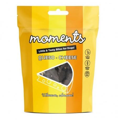 Moments queso snacks para perros