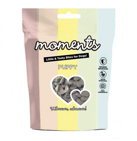 Snacks moments puppy para cachorros