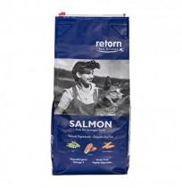 Retorn salmón pienso natural para perros