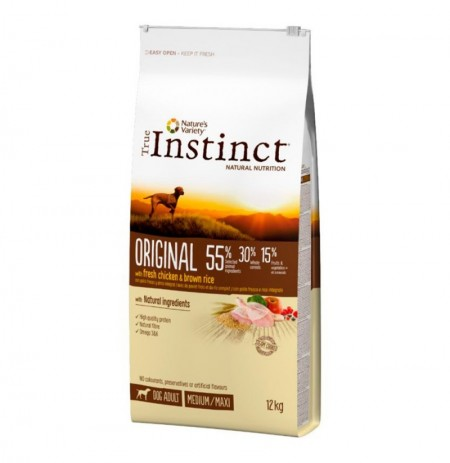 True instinct original pollo medium - maxi perros adultos