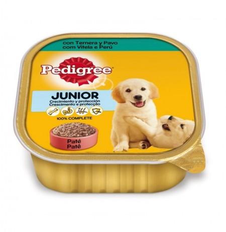 Pedigree tarrina junior para cachorros