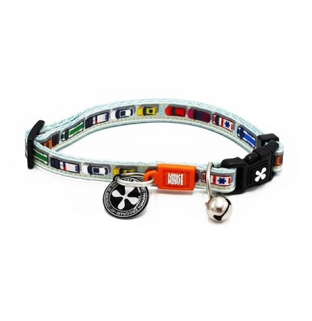 Max & molly collar traffic jam para gatos