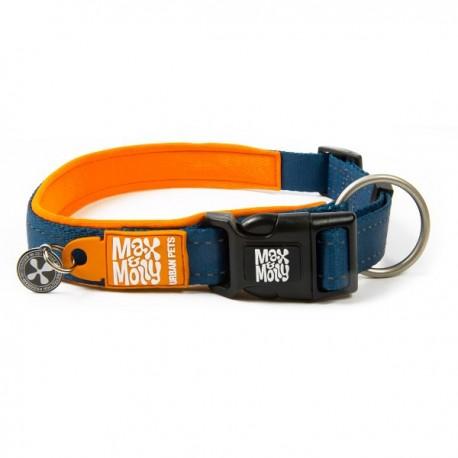 Max & molly collar matrix orange para perros