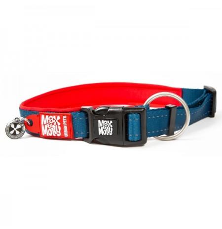 Max & molly collar matrix red para perros