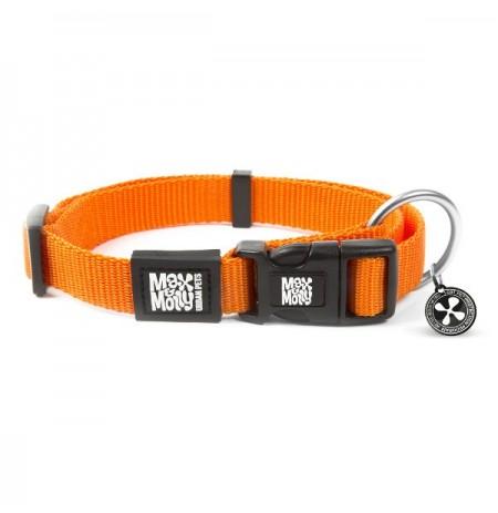 Max & molly collar pure line orange para perros