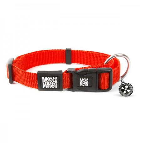 Max & molly collar pure line red para perros