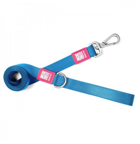 Max & molly correa pure line azul para perros