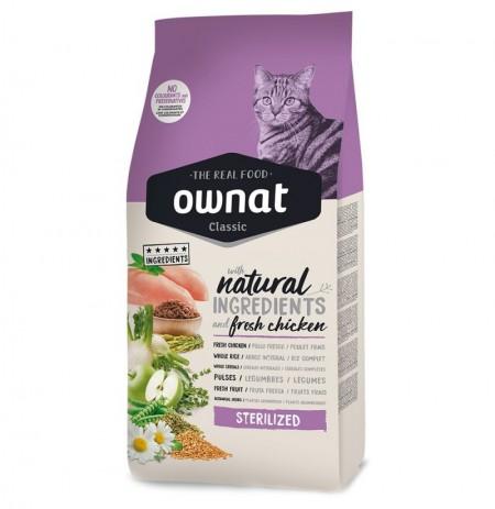 Ownat classic sterilized (gatos esterilizados)