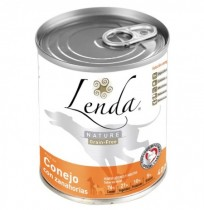 Lenda lata conejo con zanahorias para perros (grain free)